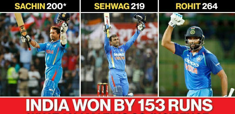 Sachin was the first man to reach the landmark