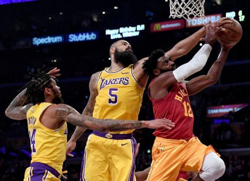 The Los Angeles Lakers were great defensively