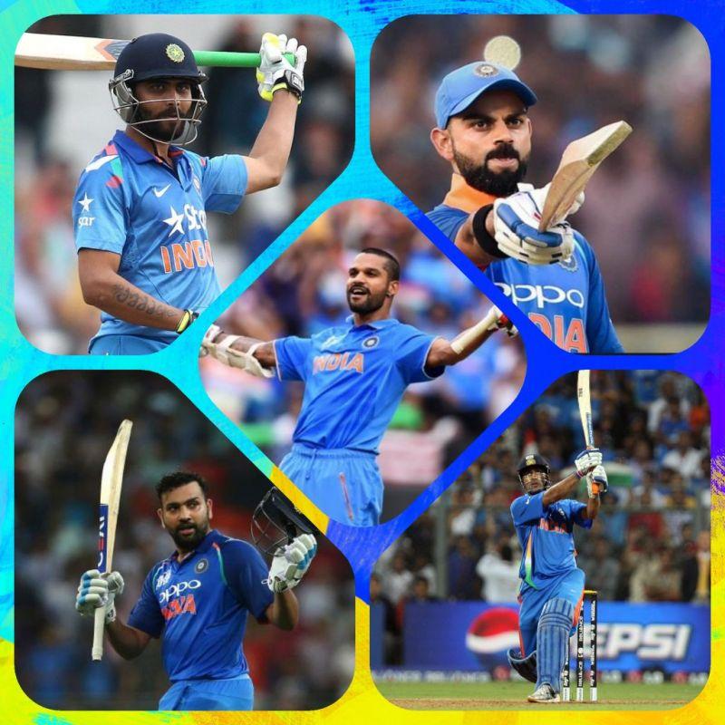 Icc Cricket World Cup 2019 Ranking Current Indian Batsmen