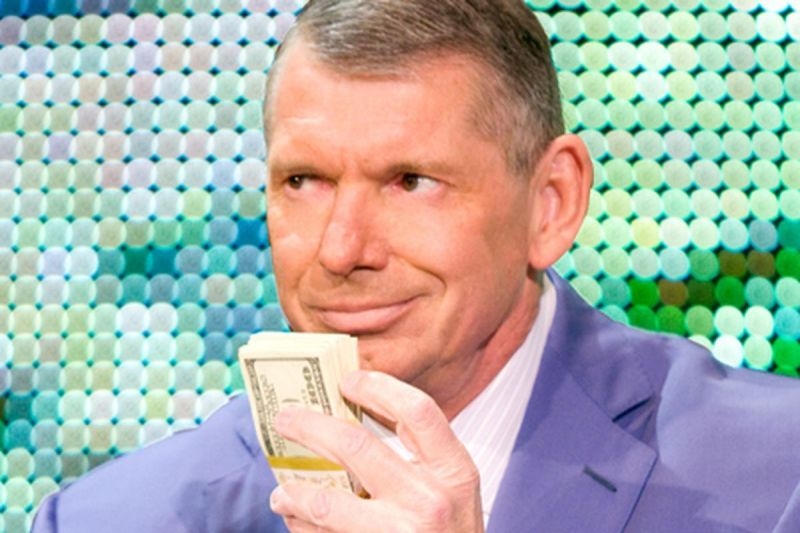 Vince still sees $$ in a potential Rock vs. Brock