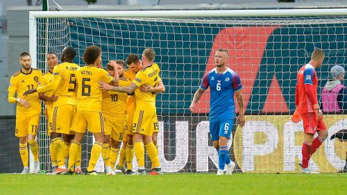 Iceland 0-3 Belgium, UEFA Nations League.