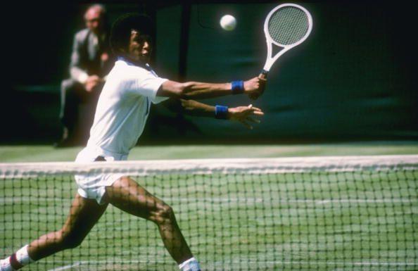 Arthur Ashe at Wimbledon Championships