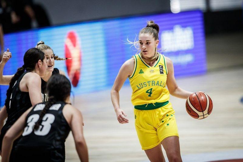 Jazmin Pamela Shelley of Australia (Image Courtesy: FIBA)
