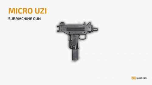 Micro Uzi (Image Courtesy: PUBG Guide)