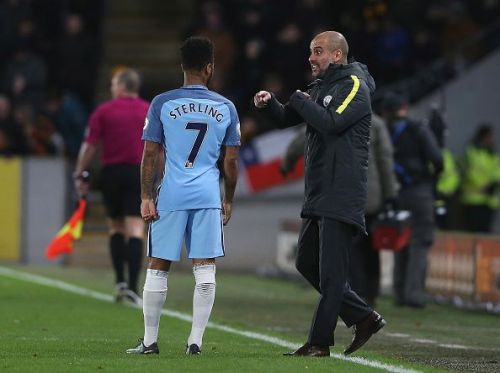 Guardiola's arrival was a godsend for Sterling