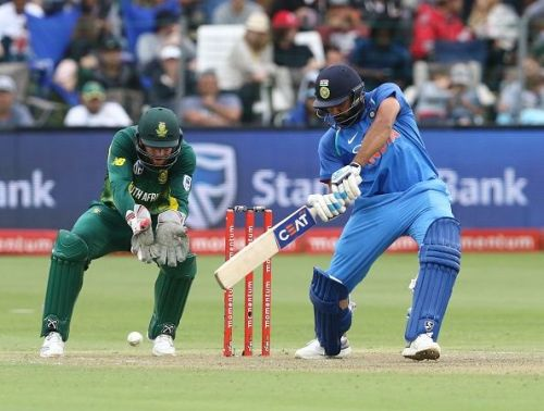 Rohit Sharma against South Africa