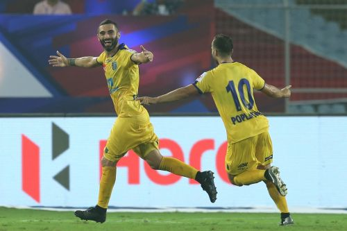 Stojanovic came into the league not known by many but has already struck twice for the club, including one in the opening match (Image Courtesy: ISL)
