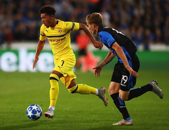 Could Jadon Sancho be the next big talent in world football?