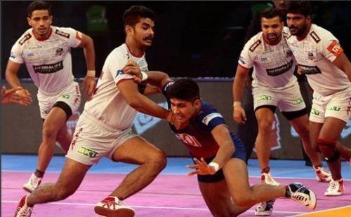 हरियाणा स्टीलर्स vs दबंग दिल्ली