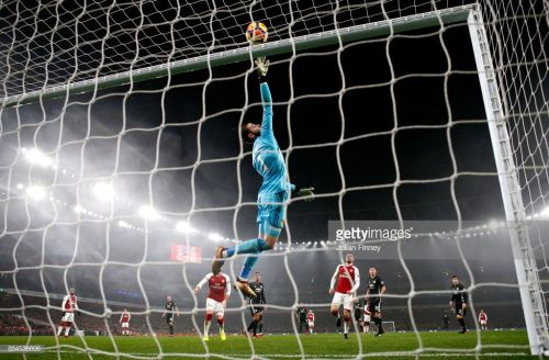 Last season DeGea pulled off an incredible performance against Arsenal at the Emirates (Picture Source: Getty)