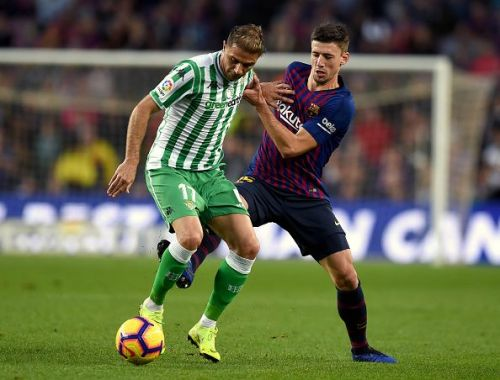 Barcelona's defensive issues were exposed by Real Betis