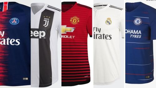 Ranking the Season's top 5 home kits