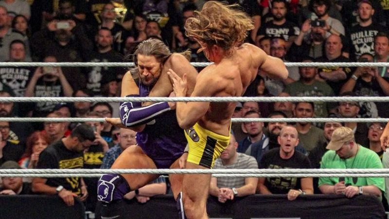 Kassius Ohno took a quick loss.