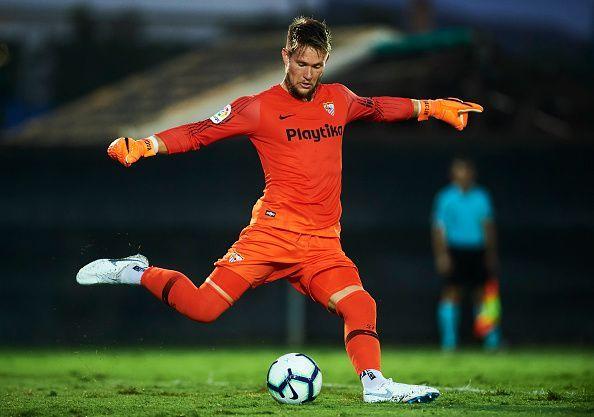 Sevilla goalkeeper Tomáš Vaclík