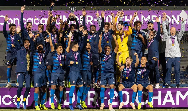 CONCACAF Champions - United States of America (Image Courtesy: MLS Soccer)
