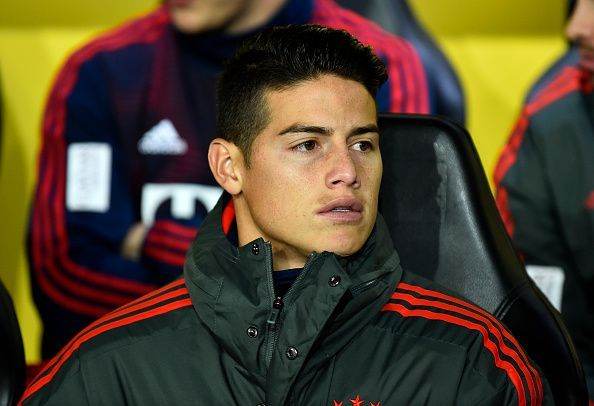 Arsenal are reportedly set to win the race for James Rodriguez