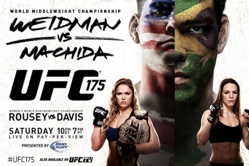 UFC 175 had a mouthwatering pair of headline bouts