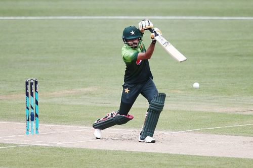 Babar Azam in action: New Zealand v Pakistan