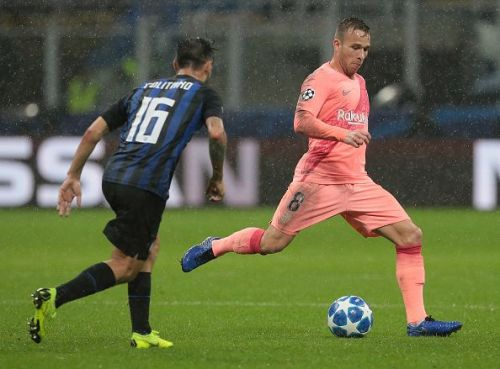 Arthur continued to impress as the replacement for Andres Iniesta