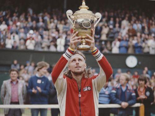 Sweden's most celebrated tennis athlete - Bjorn Borg