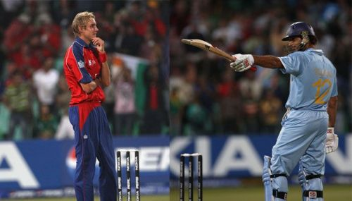 Stuart Broad made sure England Cricket board does not forget Yuvraj's six sixes