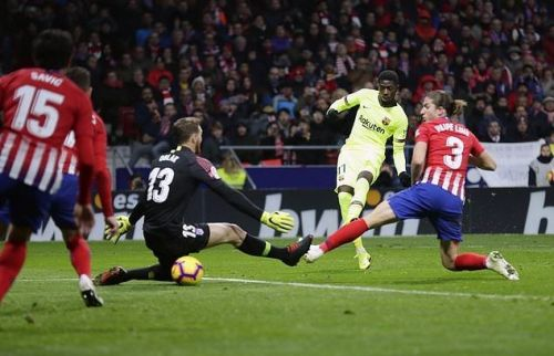 Atletico Madrid 1-1 Barcelona: Spoils shared in a dull encounter