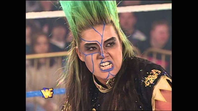 Nakano in the WWF in 1994.