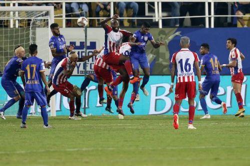 Mumbai City FC played a 0-0 draw with ATK at the Mumbai Football Arena (Image Courtesy: ISL)