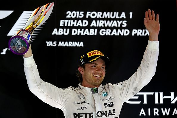 Nico Rosberg won his third race in a row at the end of 2015.