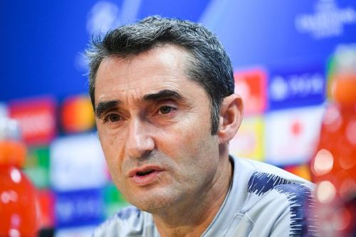 FC Barcelona Training Session and Press Conference