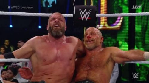 The Game was badly injured at Crown Jewel