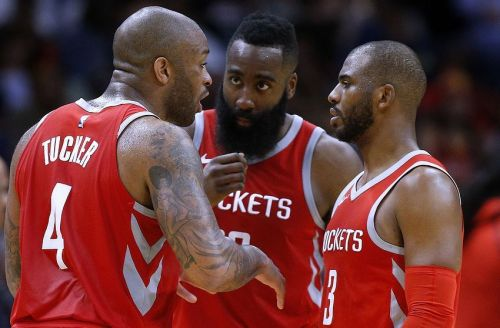 The Rockets have suffered a disastrous start to the season after topping the Western Conference last season