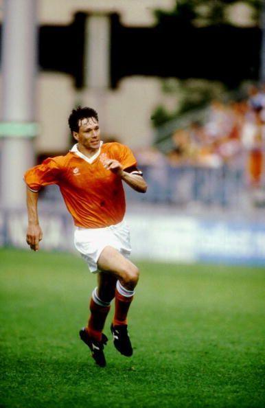 Marco Van Basten on the field