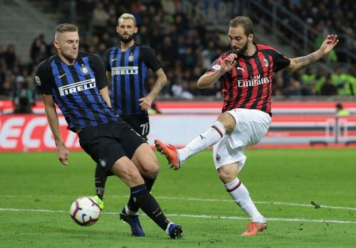 Milan Skriniar and Gonzalo Higuain have been linked with Chelsea