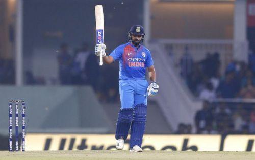 Rohit Sharma scored an unbeaten 111 off 61 balls