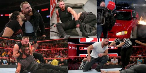Seth Rollins and Dean Ambrose have gone from being 'brothers' to worst enemies