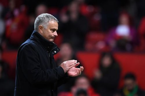 Mourinho took over at Old Trafford in 2016