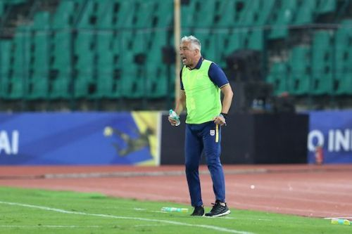 Jorge Costa's side was rather wasteful on the night [Image: ISL]