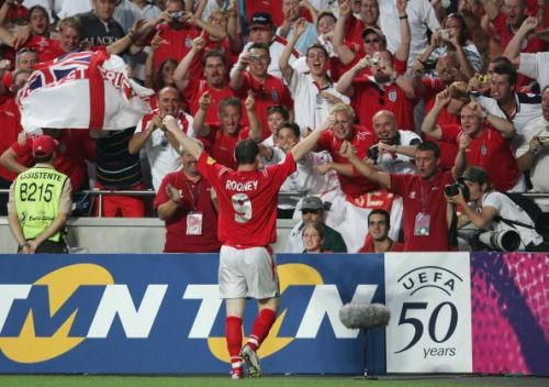 Rooney was incredible at Euro 2004, but never really followed that tournament up properly