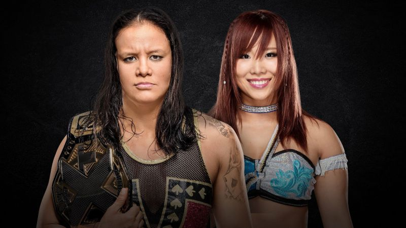 Shayna Baszler vs Kairi Sane at NXT Takeover: WarGames II