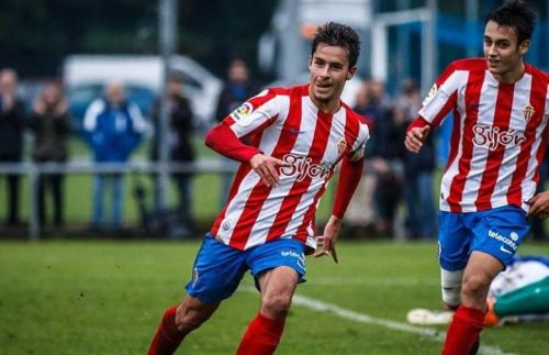 Colado went on to make 62 appearances for Gijon across the 2014-15 and 2015-16 seasons and scored 10 goals