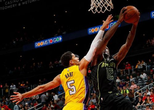 Josh Hart is part of the much talked about Lakers core