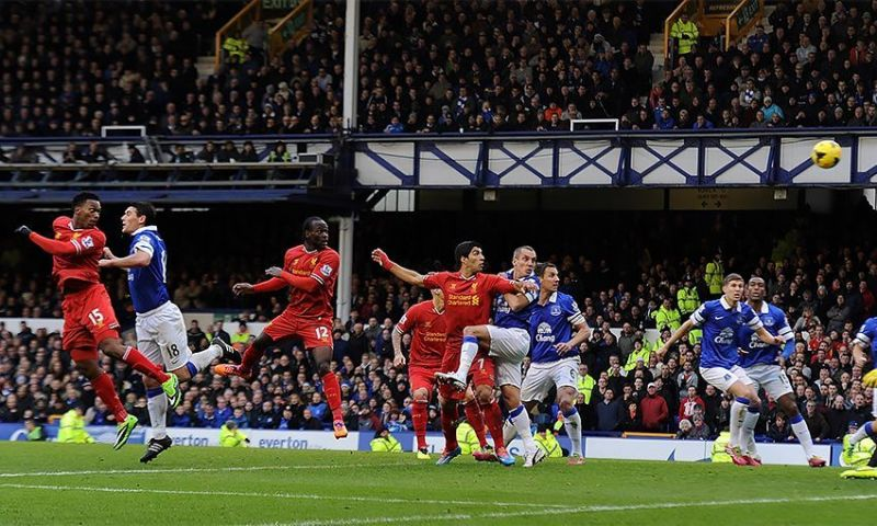 Liverpool and Everton have played some classics against each other