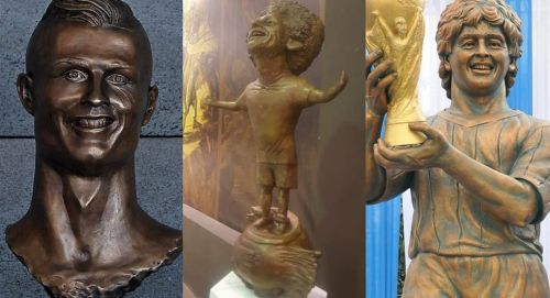 Famous players with very the worst statues you'll ever see