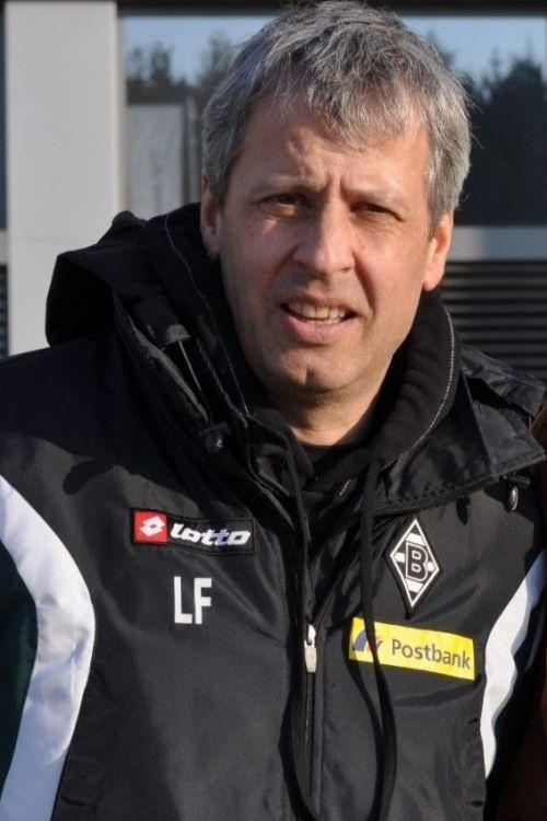 Lucien Favre in Borussia Monchengladbach