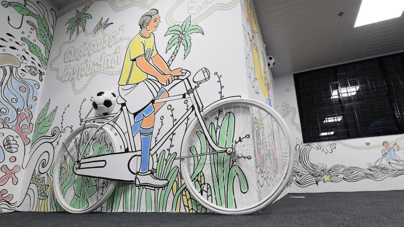 Art-filled Kochi Volunteer Centre