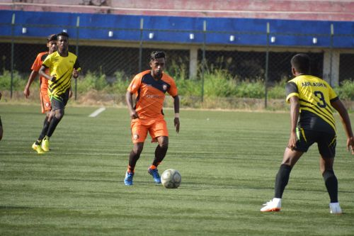 Mani had a stellar game for South United FC in midfield