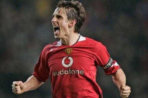 Gary Neville - terrier-like and determined