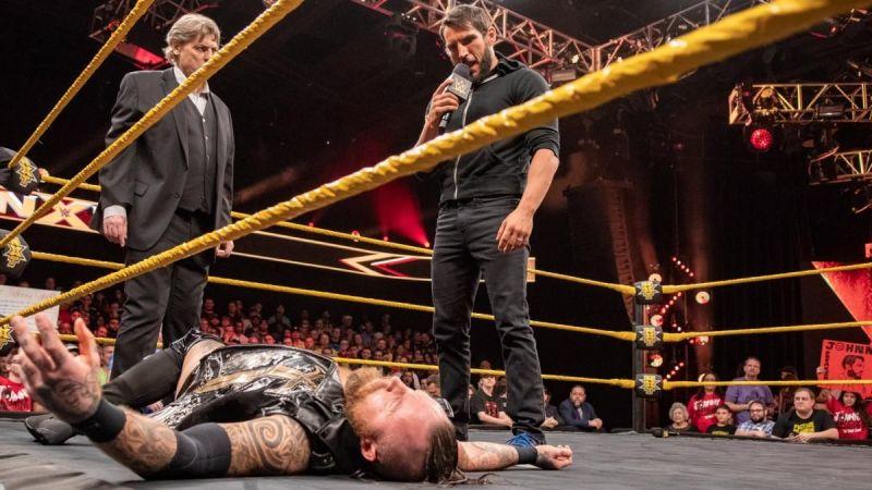 Gargano turned heel on Aleister Black last month