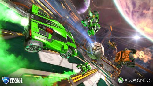 Rocket League receives enhanced 4k graphics
